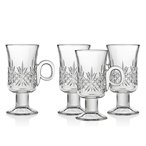 Godinger Dublin Irish Coffee Mugs - Set of 4