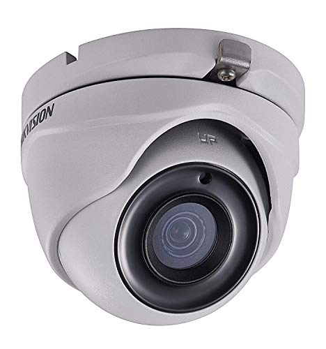 5MP 4-in-1 Turbo HD IR IP67 Rated Dome Camera,Anpvees 5MP Colour Eyeball Dome CCTV Camera with 2.8mm Fixed Lens, (up to 5MP HD-TVI & AHD/4MP CVI) DS-2CE56H0T-ITMF Made by Hikvision (white-1pack)
