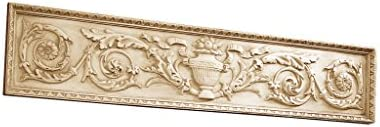 Design Toscano NG33631 Horizontal San Galgano Wall Pediment,ancient ivory