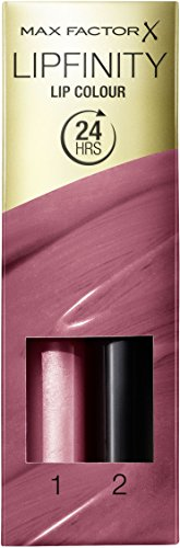 Max Factor Lipfinity Two Step Lip Colour -330 Essential Burgandy