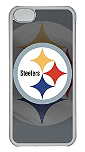 GOOD 5C Case, iPhone 5C Case, Personalized Hard PC Clear Shoockproof Protective Case Cover for New Apple iPhone 5C - Nfl Pittsburgh Steelers