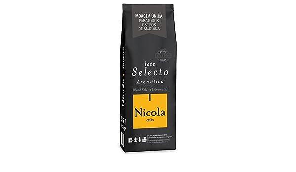 Amazon.com - NICOLA Coffee - SELECTO Aromatic (Ground Coffee) - 6 x 250gr / 8.8oz NICOLA Coffee - SELECTO Aromatic (Ground Coffee) - 6 x 250gr/8.8oz -