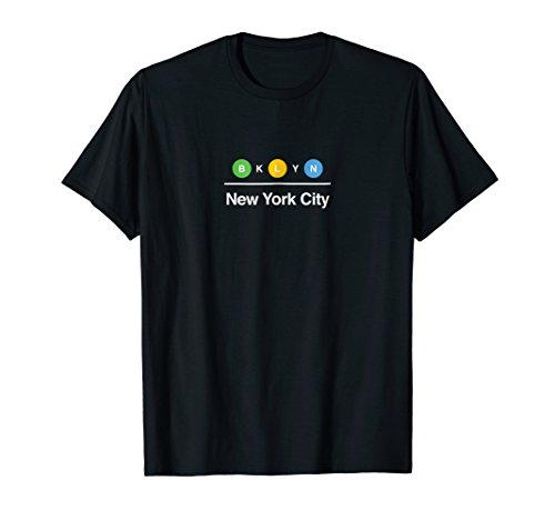 Brooklyn NYC New York City Subway Graphic T Shirt