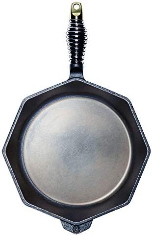 FINEX – 12 Cast Iron Skillet, Modern Heirloom, Handcrafted in the USA, Pre-seasoned with Organic Flaxseed Oil