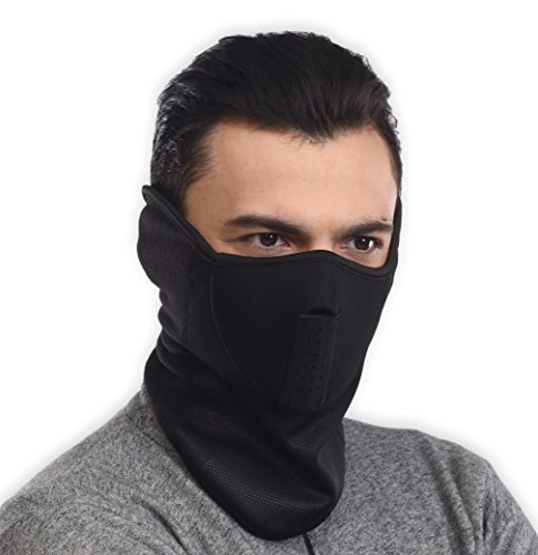Neoprene Ski Mask - Tactical Winter Face Mask - Perfect for Skiing, Snowboarding & Motorcycling