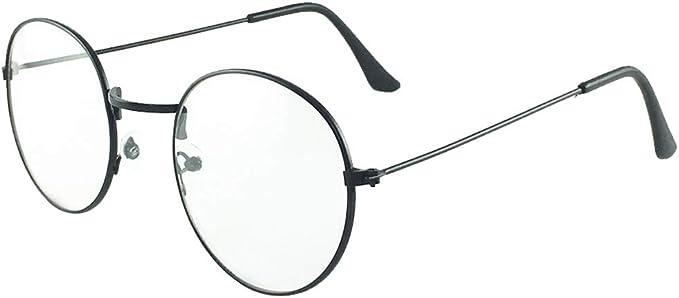 Unisex Non-Prescription Glasses Frame BOZEVON WomenS Glasses Frame Fashionable Large Frame Glasses Frame Flat Mirror