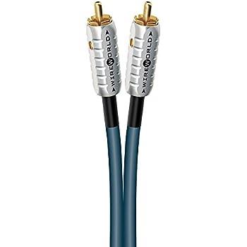 Amazon.com: WIREWORLD Luna 7 Audio Interconnect Cable RCA to RCA ...