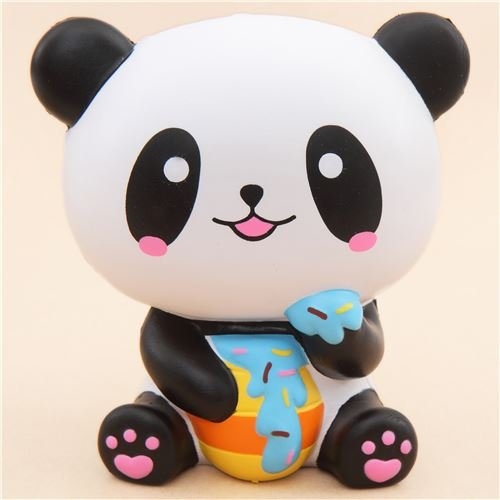 Kawaii Squishy profumato jumbo panda