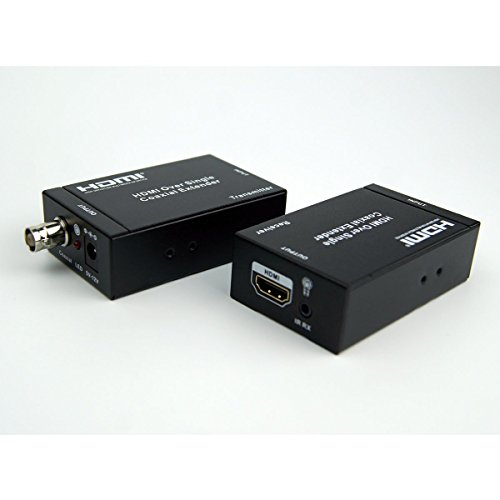 Coaxial Cable Extender : Eazy hd hdmi extenders over single rg coaxial cable up to