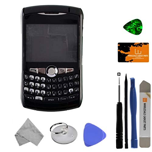 Housing (Complete) for BlackBerry 8300, 8310, 8320 Curve (Black) with Tool Kit