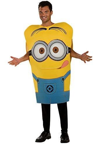 Rubie's Despicable Me 2 Foam Tunic Carl Dave, Blue/Yellow, Standard Costume