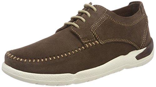 Sioux Herren Tureno-701 Sneaker Braun (Wood)