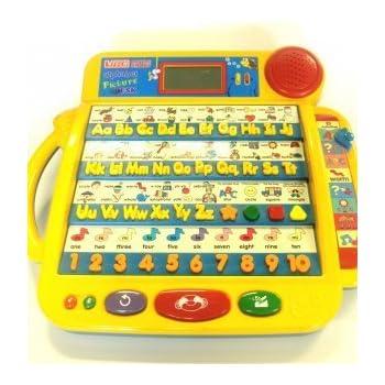 Amazon.com: VTech Little Smart Alphabet Picture Desk