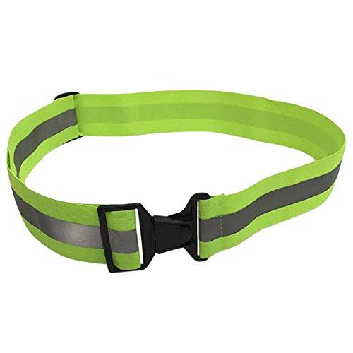 SODIAL Glow Belt - Running Belt - Reflective Belt - PT Belt (Glow Belt)