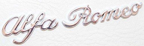 ALFA Letras port/ón trasero cromado Ala Posterior logo para maletero MITO Giulia GIULETTA