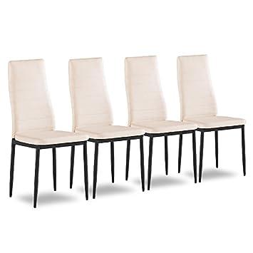 Svita 4er Set Esszimmerstuhl Kuchenstuhle Polsterstuhl Stuhlgruppe