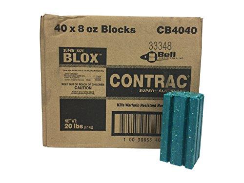 Contrac Super Sized Big Blocks Ridenticide by Contrac