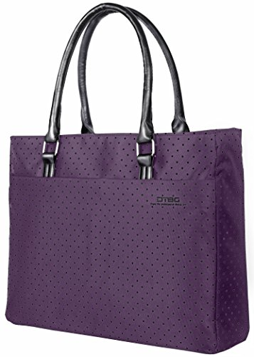 Cheap  Laptop Tote Bag, DTBG 15.6 Inch Women Shoulder Bag Nylon Briefcase Casual..