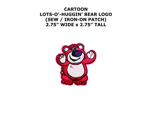 Toy Story Lots-O'-Huggin' Bear Cartoon DIY Embroidered Sew or Iron-on Applique Patch Outlander (Toy Story Alien Costume Diy)