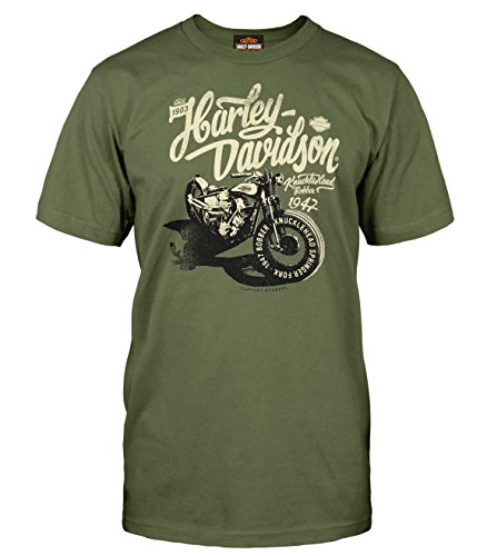 Price comparison product image Harley-Davidson Men's T-Shirt - Shadow | Military collage 2X