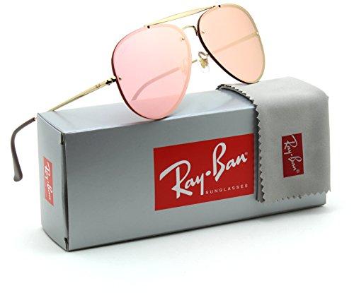 Ray-Ban RB3584N Blaze Aviator Unisex Sunglasses Pink 9052E4 - - Aviator Blaze Ban Ray