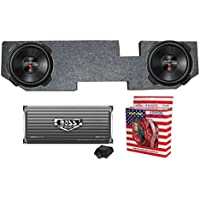 2) Kenwood 12 2000W Subs + Dodge Ram Quad Cab 02-New Box + Amplifier + Wiring