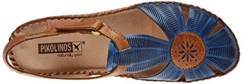 Pikolinos con Royal Caviglia P Sandali Cinturino Vallarta Donna 655 Blu Blue alla aaprq