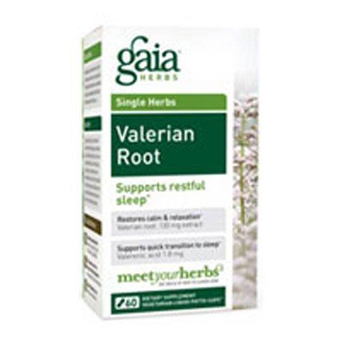 Gaia Herbs Valerian Root, 60-capsule Bottle ( Multi-Pack)