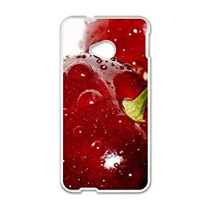 Fresh red berry nature style fashion phone case for HTC One M7 wangjiang maoyi