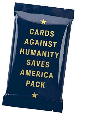 Cards Against Humanity Saves America Pack by Cards Against Humanity