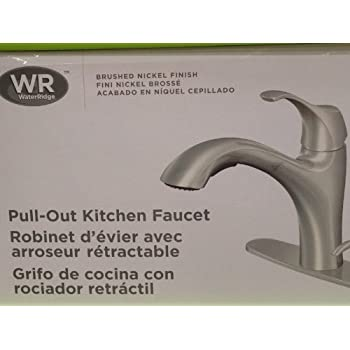 Water Ridge Brushed Nickel Pull-Out Kitchen Faucet, FP2B0000 ...