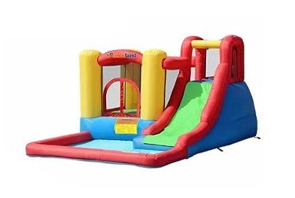 Amazon.com: Parque de juegos inflable Bounceland.: Toys & Games