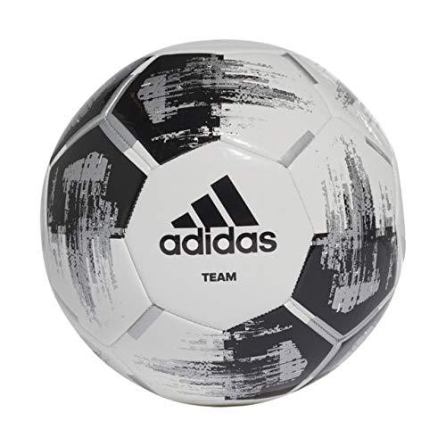 adidas Team Glider Football - White/Black/Silver - Size 5