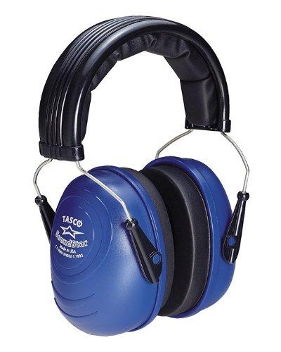 Tasco 2550 Sound Star Over-the-Head Earmuffs, NRR=25, Blue