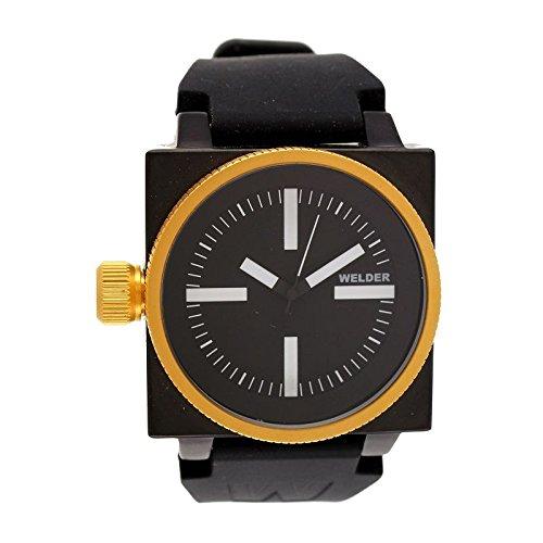 Coffret reloj Welder hombre K-26 modelo Data negra, dorada y blanca - 5101 K26: Amazon.es: Relojes