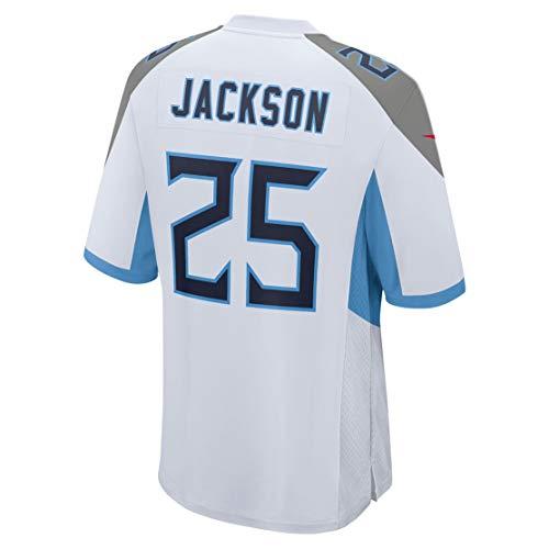 Ray.eto Mens Adoree'_Jackson_25_White Fans Replica Jersey Sportswear Custom Football Game Limited Elite Legend Jerseys