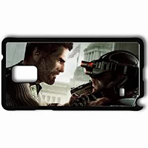 Personalized Samsung Note 4 Cell phone Case/Cover Skin Agent Black