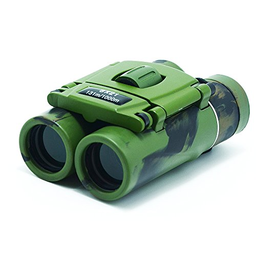 - Kids Binoculars 8x21Binoculars for Kids Toy Binoculars for Boy /Girls Mini Lightweight Children Binoculars Folding Binoculars Outdoor Birthday/Christmas Gift Educational Learning Bird Watching Hiking