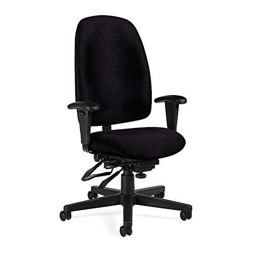 (Global Granada Multi-Tilter Fabric High-Back Executive Office)