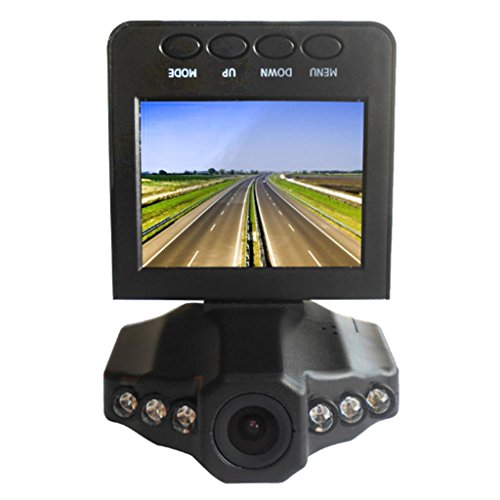 Homyl Great Performance High Solution Portable DVR 2.5inch TFT LCD Camera ()