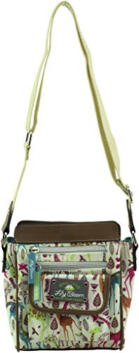 Lily Bloom Jamie Crossbody Bag, Giraffeic Park -  10485832