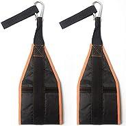 2Pcs Abdominal Muscle Training Straps AB Hanging Sling Belt Pull Up Leg Raiser Sports Fitness Exercise Equipme