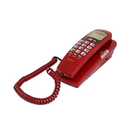 Vroxy Landline Intercom Telephone KX-T555 Caller ID Phone | Digital LCD Display Phone (Random)
