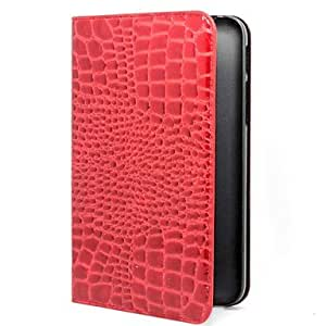 TOPAA PC Material Beautiful Crocodile Pattern Pattern for Samsung Galaxy Tab 3 Lite T110 (Assorted Colors) , Blue
