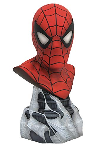DIAMOND SELECT TOYS Legends in 3-Dimensions: Marvel Spider-Man 1: 2 Scale Bust