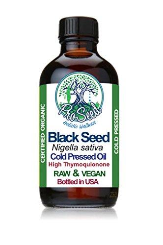 ORGANIC RAW Black Seed Oil | Virgin Unfiltered Cold Pressed Blackseed Oil | Nigella Sativa Oil | Black Cumin | Kalonji Oil