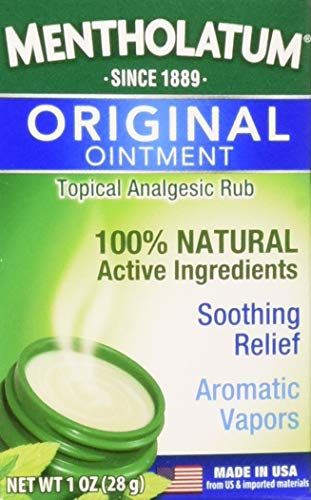 Mentholatum Ointment Jar 1 oz (Pack of 6)