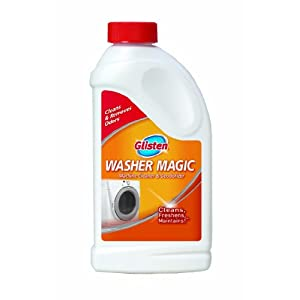 Glisten WM06N Washer Magic-24 Fluid Ounces-Washing Machine Cleaner for Traditional Top Loaders and High Efficiency (HE) Washing Machines