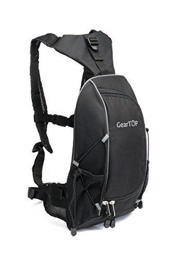 GearTOP Mountain Biking Backpack - Athletic Bag Best For Outdoor Sports, Cycling, Running Traveling, Camping, Hiking - Women, Men, Children (Everyday Bmx Bike)