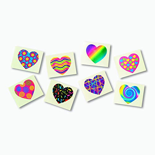 Funky Heart Tattoos (72 pieces)